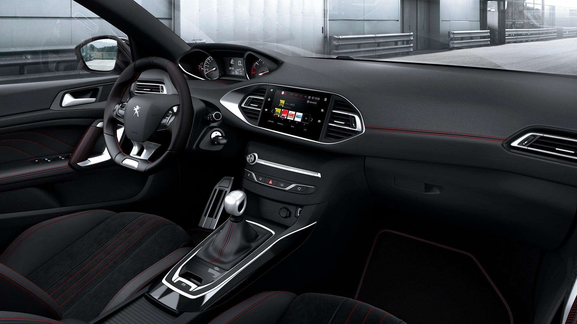 Peugeot 308 automaattivaihteisto