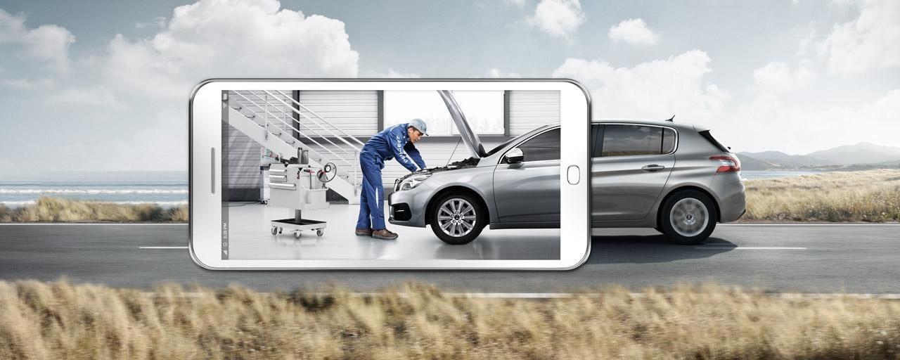 Peugeot jälkimarkkinointi