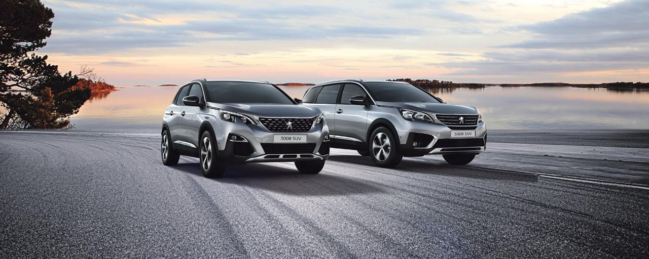 Peugeot 3008 ja 5008 SUV