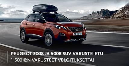 Peugeot 3008 ja 5008