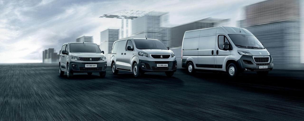 Peugeot hyötyajoneuvomallisto