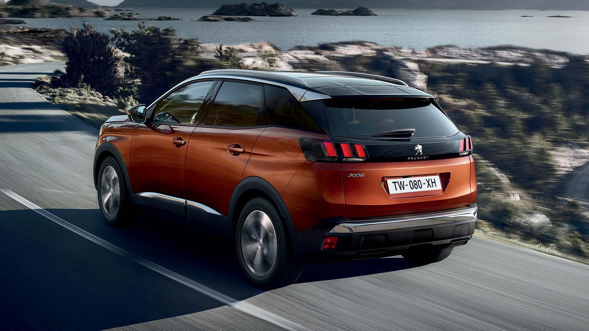 Peugeot Suv 3008 >> Videoita Ja Kuvia Uudesta Peugeot 3008 Suv Sta